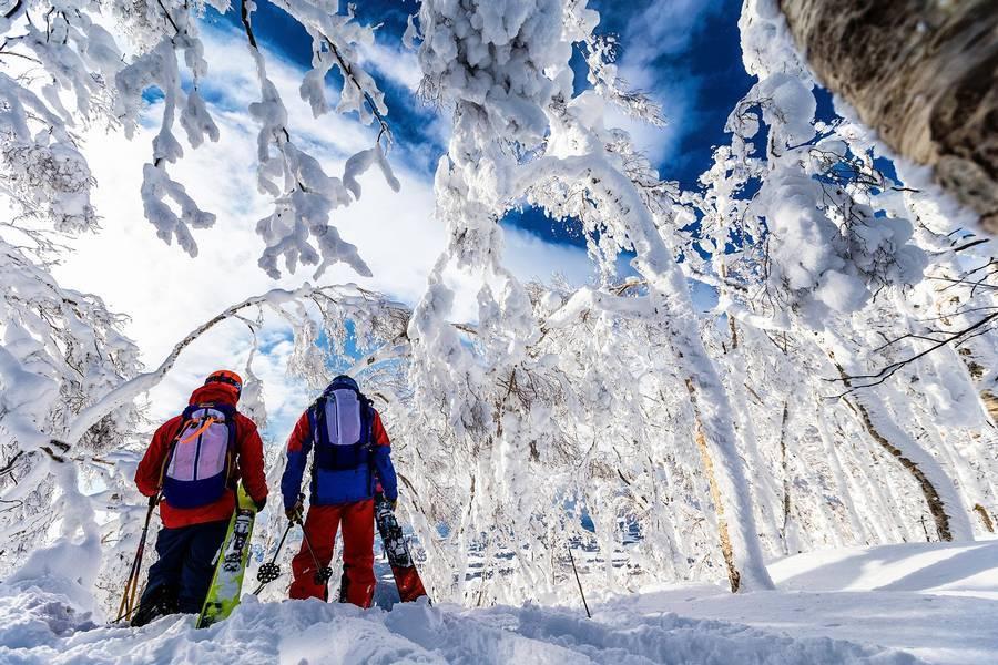 Skiing in St Johann